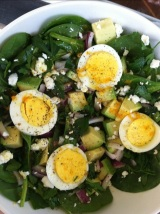 Sunny Brunch Salad with CitrusDressing