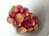 Honey Glazed Radishes