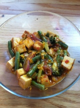Spicy Orange Peel Tofu
