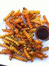 Chipotle Spiced Butternut Squash Oven Fries